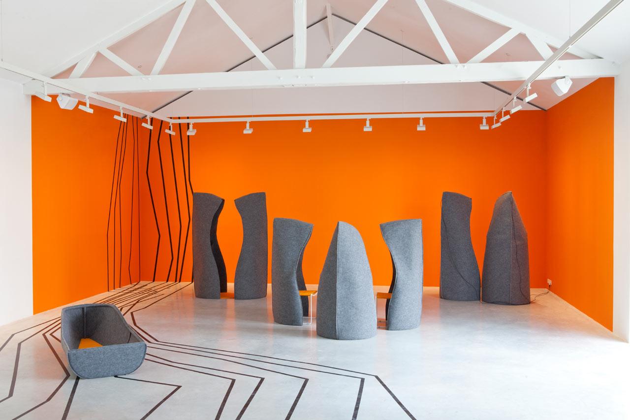 Voyage to Uchronia Exhibition by Matali Crasset
