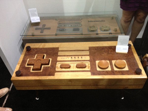 nintendo-controller-wooden-table