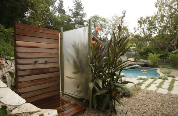 Outdoor Shower Mark Tessier Landsc Arch