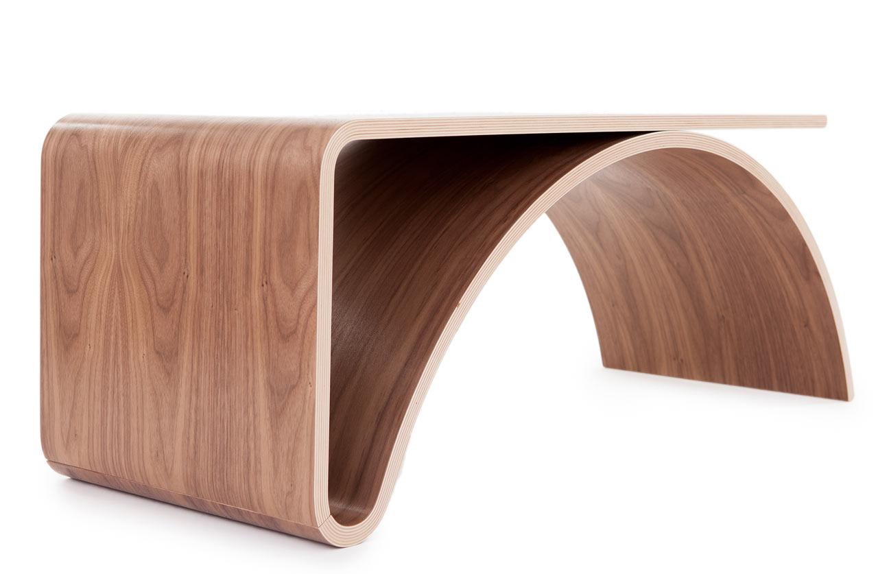 Kaari table by juhani horelli design milk - Different decorative contemporary style furniture ...