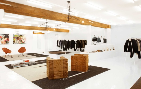 Totokaelo's Fresh New Mens Store in style fashion main interior design  Category