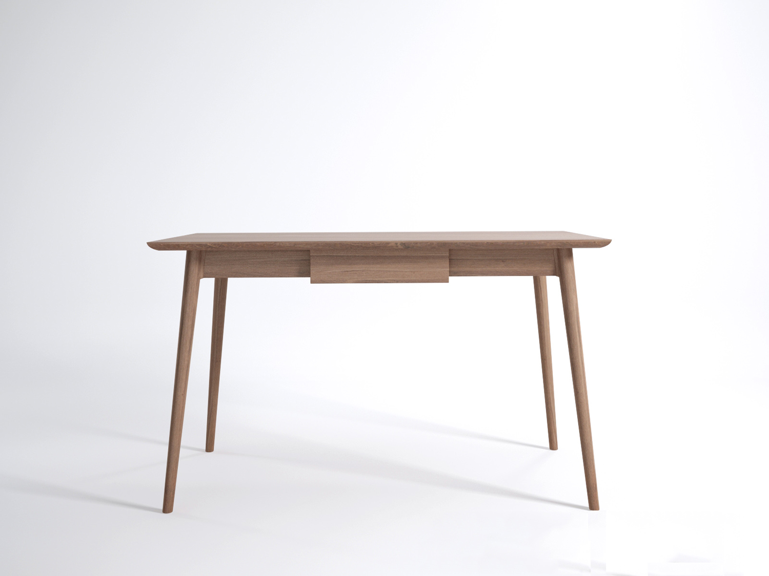 Vintage desk by karpenter design milk for Minimalist desk