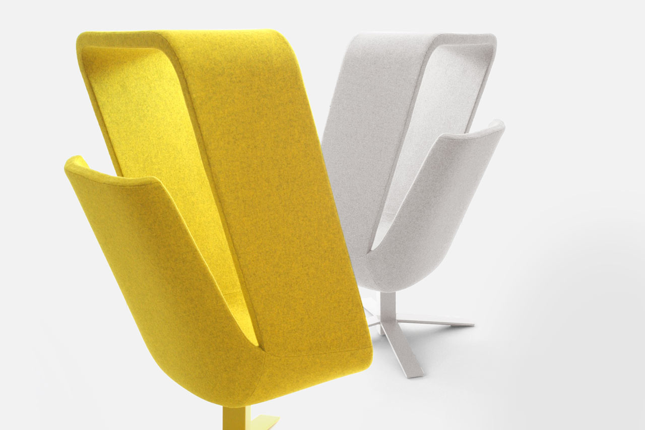 The Best Seat in the House: Windowseat by Mike & Maaike for Haworth