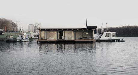A Modern Houseboat in Berlin