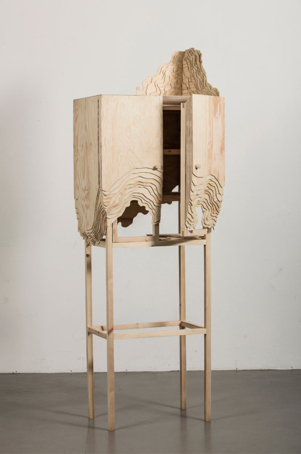 Furniture Erosion: Nate Cabinet by Lisa Berkert Wallard in main home furnishings  Category