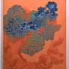 """""""Amorphous"""" Acrylic on Panel, 31x24.5"""