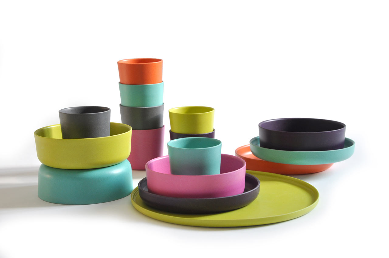 BIOBU by EKOBO: Eco-chic Kid's Dishware