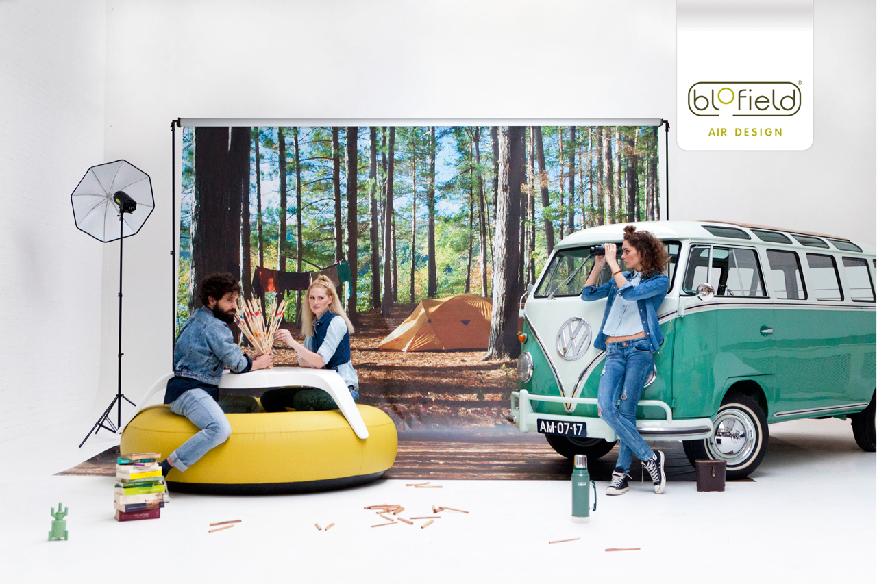 Blofield Air Design: Inflatable Outdoor Furniture