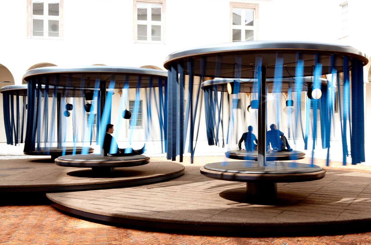 Quiet Motion: An Installation by Ronan & Erwan Bouroullec