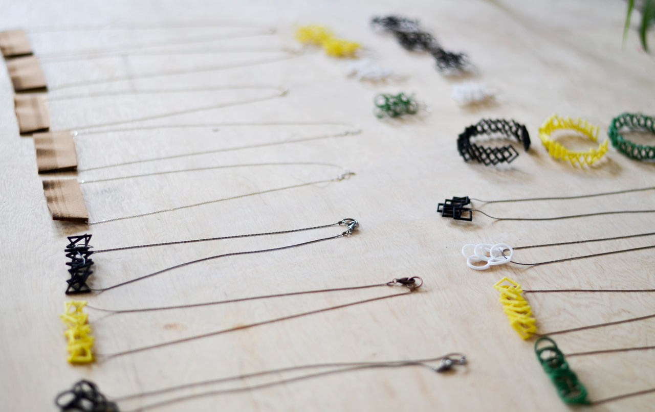 Hot Pop Factory's 3D-Printed Jewelry