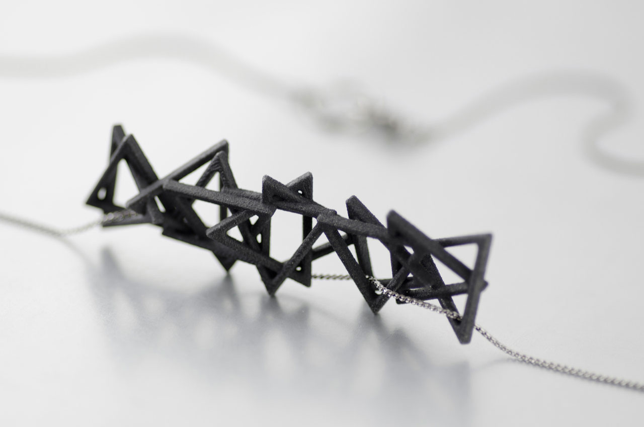 Platonix Type I Necklace in Black