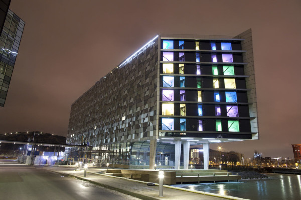 Where ideas are born radisson blu riverside hotel for Cool design hotel