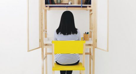 Forming the Border Desk by Juhui Cho