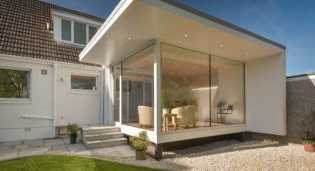 Contemporary Garden Room by Capital A Architecture