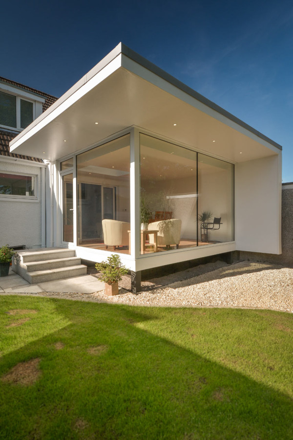 Contemporary Garden Room by Capital A Architecture in main architecture  Category