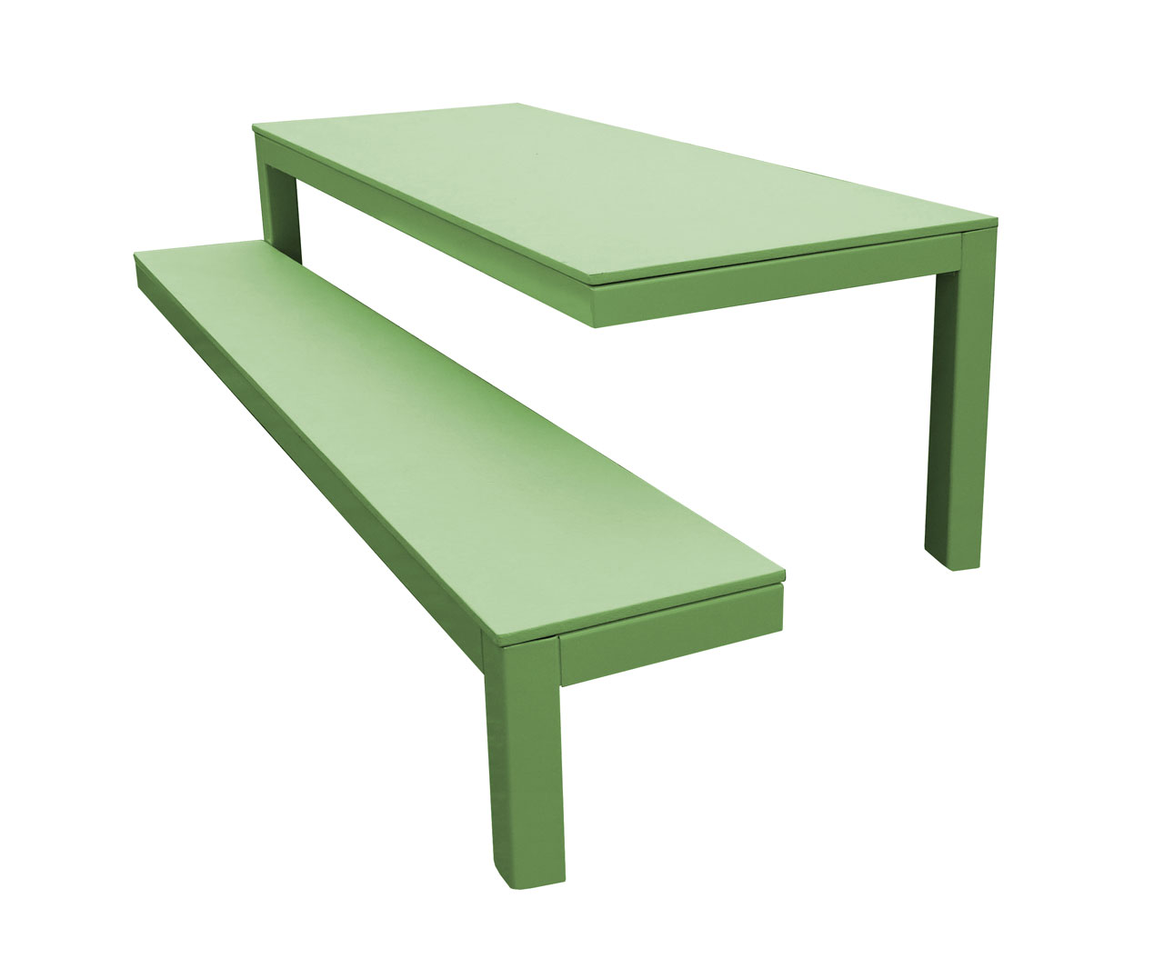 picnic product duty solid fully wet recycled plastic table heavy bench