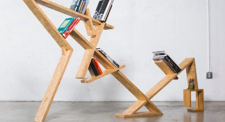 INDRA Bookshelf by Bradley Bowers
