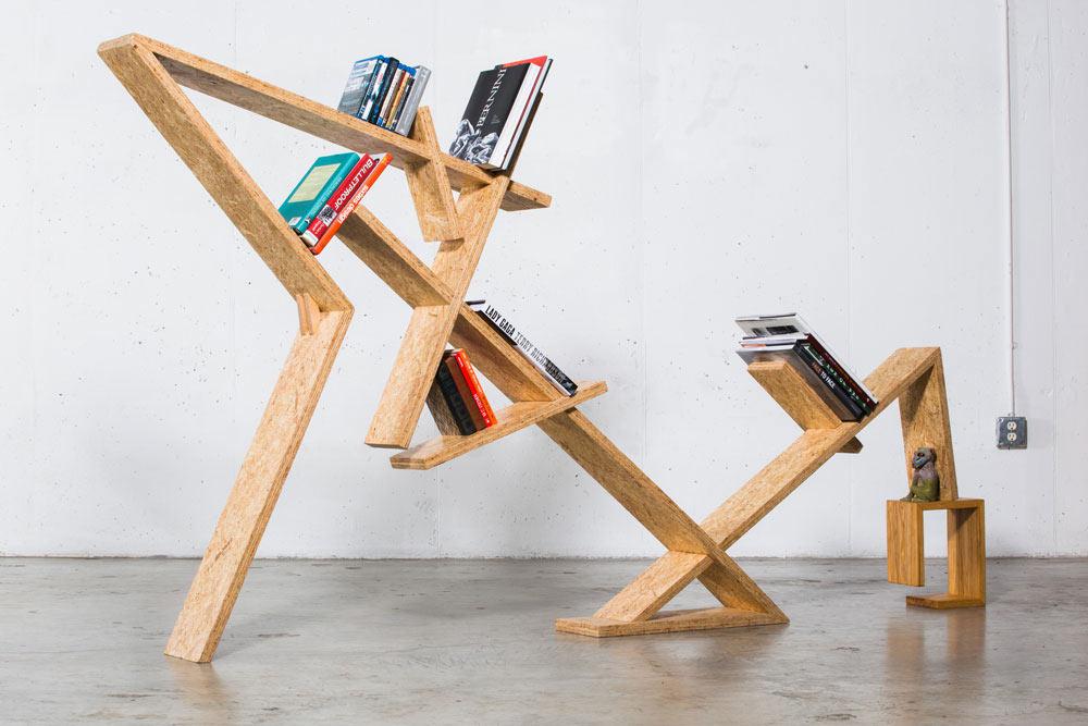INDRA Bookshelf by Bradley Bowers