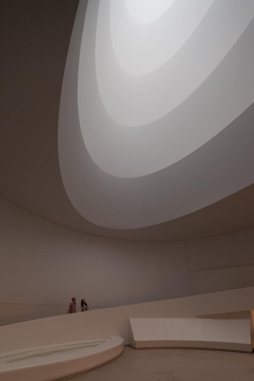 James Turrell Resculpts the Guggenheim with Light