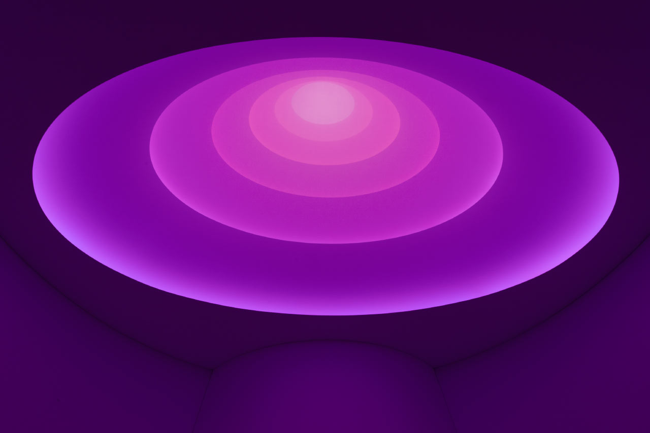 "James Turrell ""Aten Reign"" 2013, installation view, © James Turrell.  Photo: David Heald © Solomon R. Guggenheim Foundation, New York"