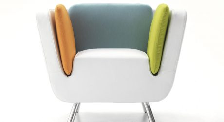 NOOK Lounge Chair & Matching Luggage by Karim Rashid