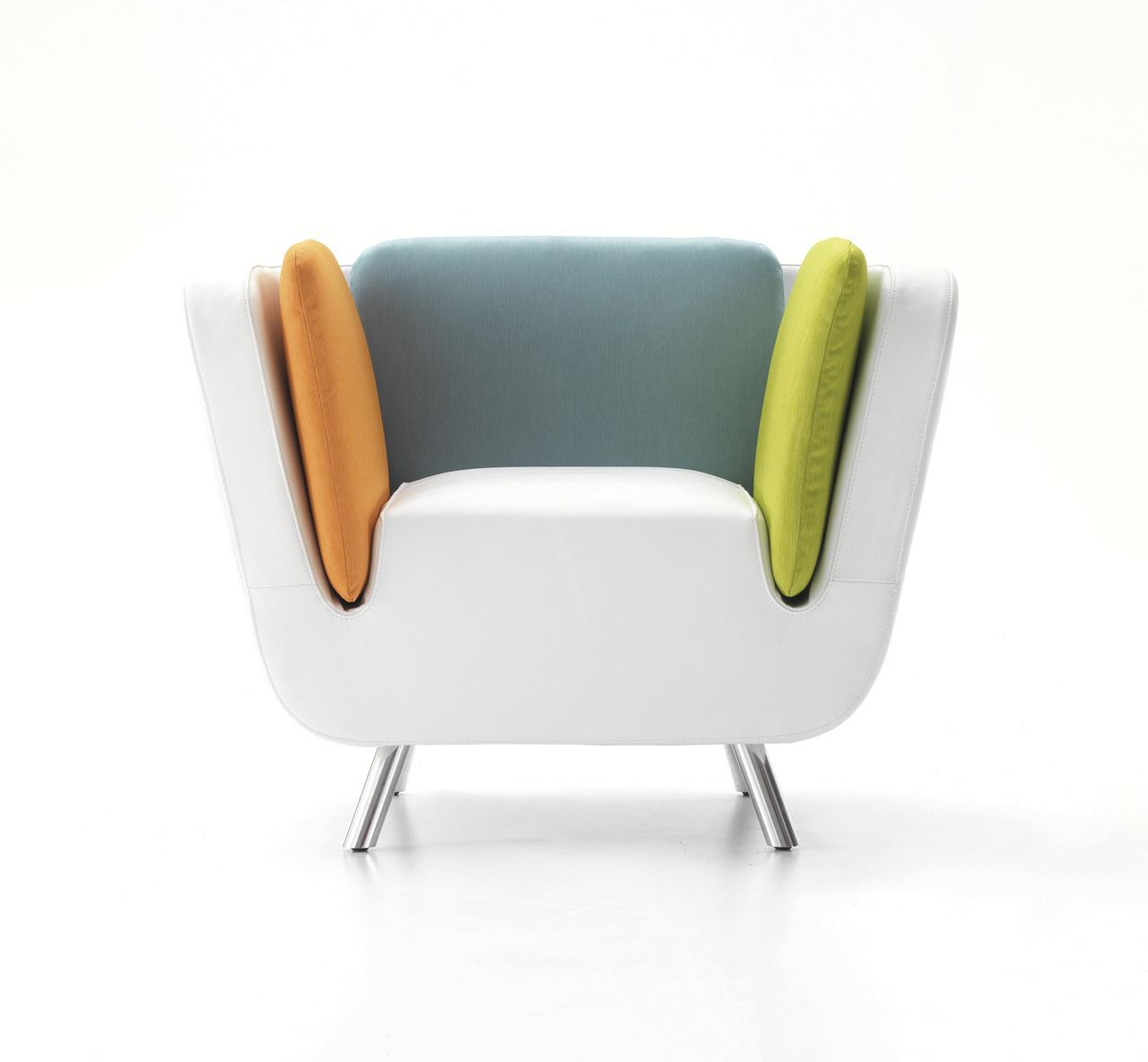 NOOK Lounge Chair & Matching Luggage by Karim Rashid Design Milk