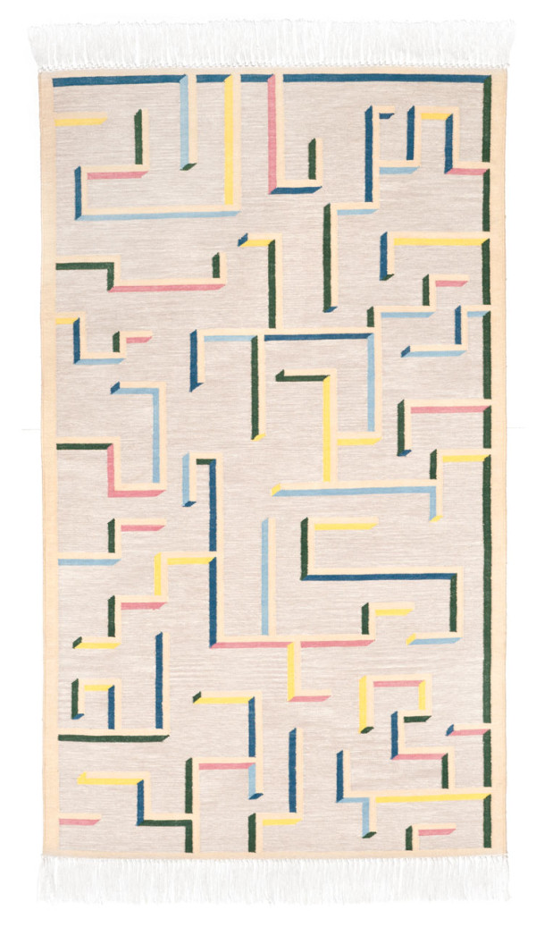 Labyrinth Rug Oyyo Swedish Textile Design