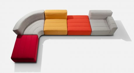 Larva Seating System by Studio Segers for B by Indera