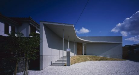 Curved House in Naruto by Naoko Horibe
