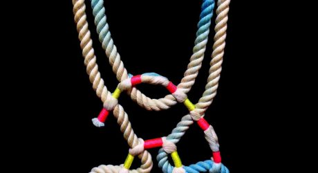Neon Zinn Rope Jewelry by Seth Damm