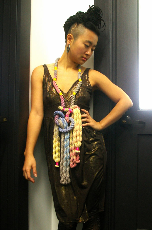 Neon Zinn Rope Jewelry by Seth Damm in style fashion main  Category