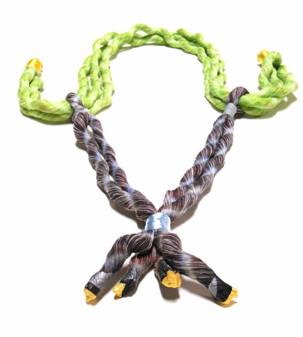 Damm Design neon zinn jewelry by seth damm design
