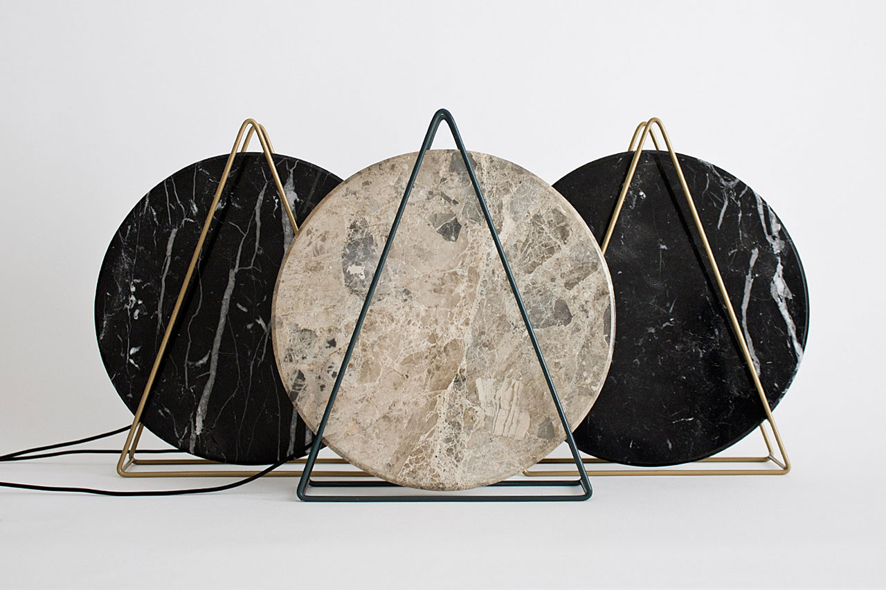 Novecento Marble Table Lamps By Davide G Aquini ...