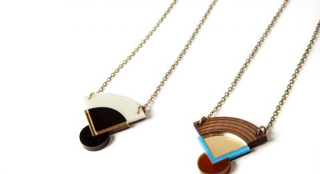 Geometric Japanese-inspired Jewelry from Nylon Sky