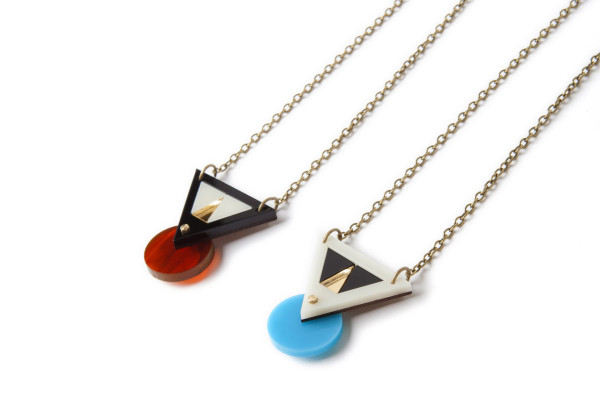 Geometric Japanese inspired Jewelry from Nylon Sky in style fashion  Category