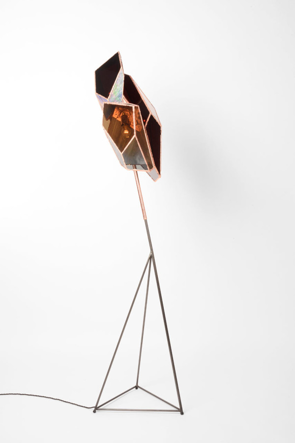 Copper Literally Grows To Create These Lamps in main home furnishings  Category