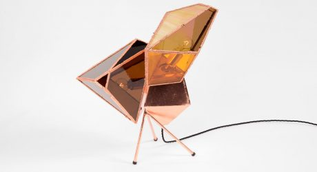 Copper Literally Grows To Create These Lamps