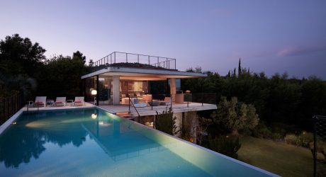 A Modern Getaway in the Gulf of St. Tropez