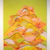 """""""Reflective Mound"""", Acrylic on panel, 36x24"""
