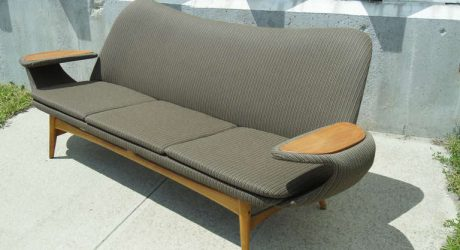 Vintage Scandinavian Sofa