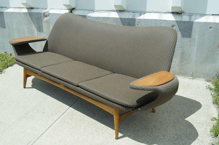 Marvelous Vintage Scandinavian Sofa