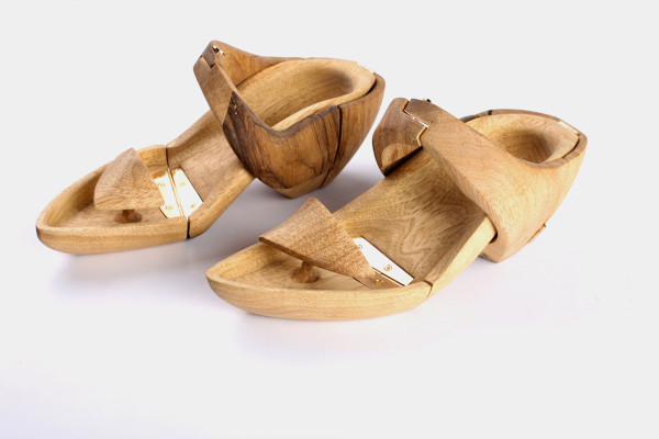 Hang It: Wooden Shoes by Tal Weinreb in style fashion main  Category