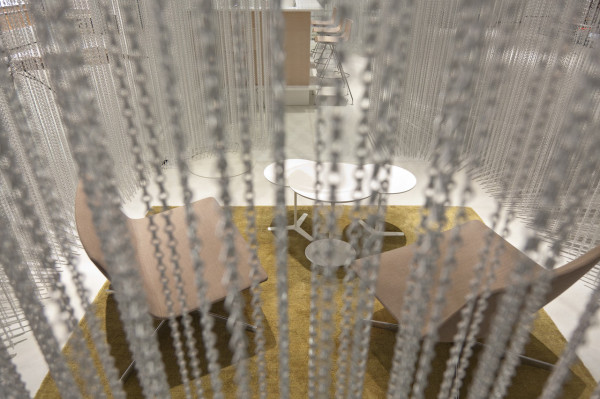 Its Raining Chains in the Talsee Showroom in main interior design  Category