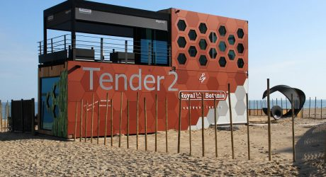 A Pop-Up Hotel: Tender2 by Royal Botania