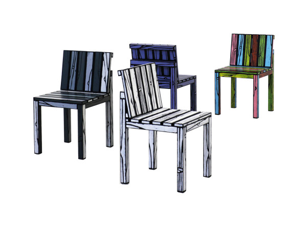 Wrong Woods Do It Again With More Colorful Wood Grain Furniture in main home furnishings  Category