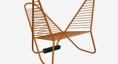 A Pretzel-Like Chair That's Reversible