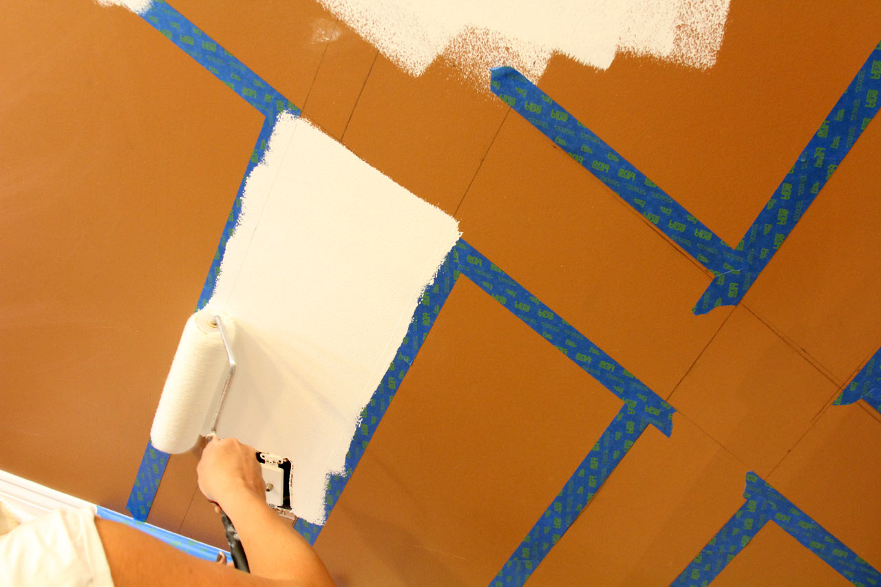 blue-tape-lines-sherwin-williams-painting