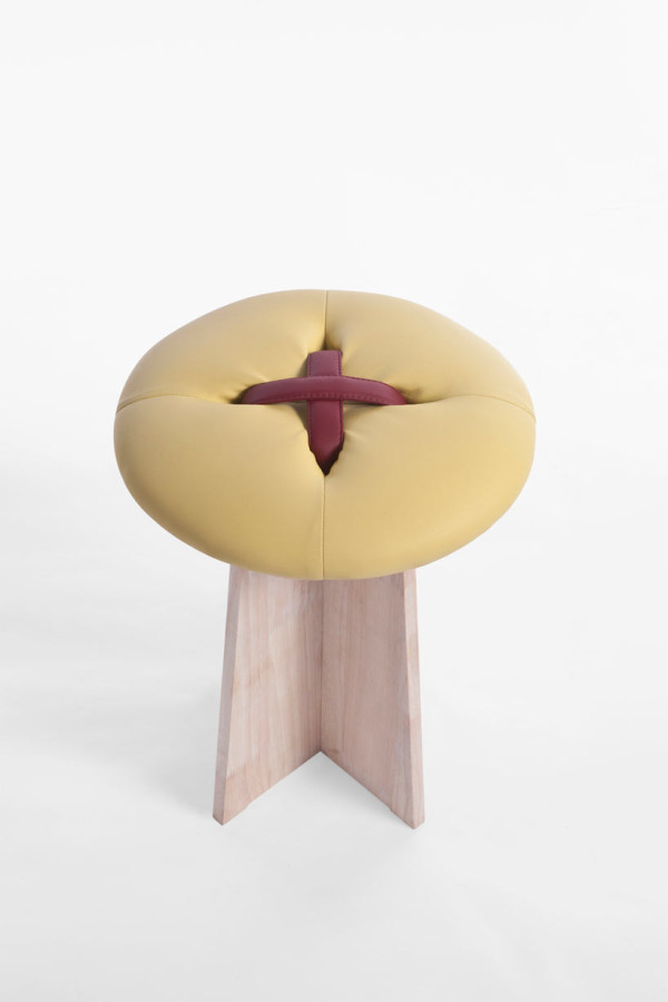 bottone-yellow-stool-modern-button-bozu