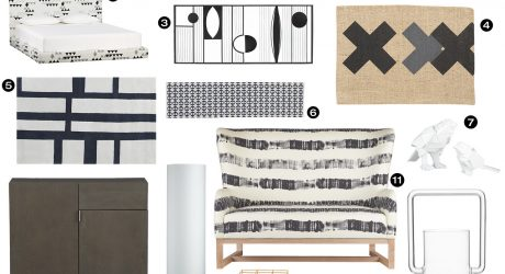 CB2 Goes Bold and Graphic for Fall 2013