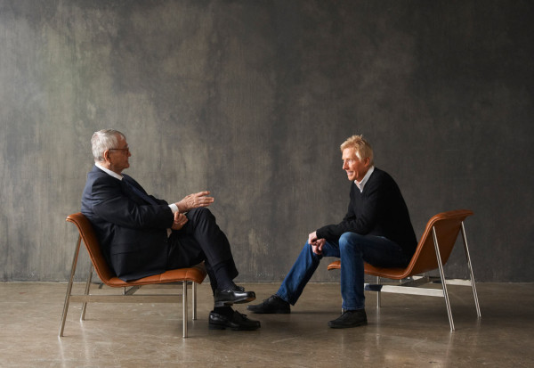 Charles Pollock talks with Jerry Helling